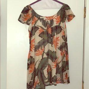 Show Me Your MuMu Kylie Mini Dress in Budding Rose